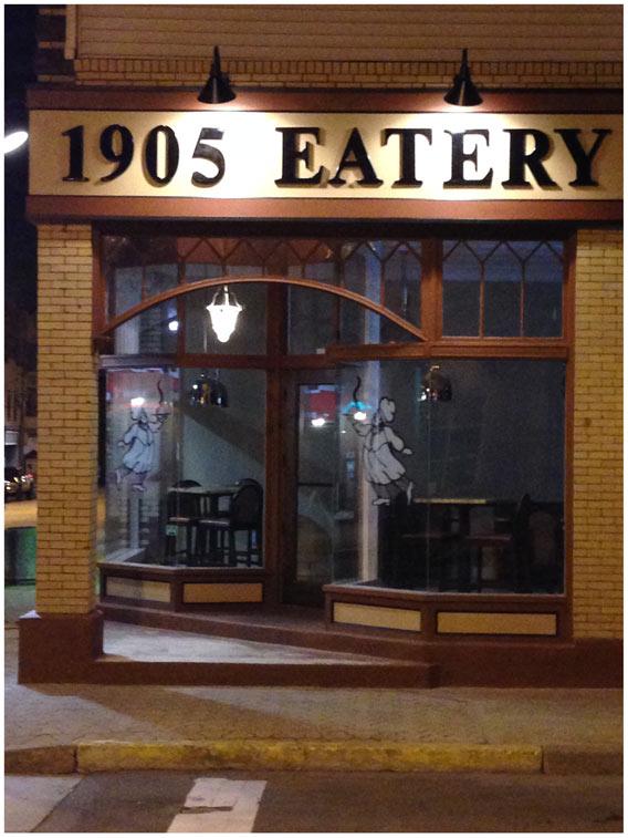 1905 eatery outside
